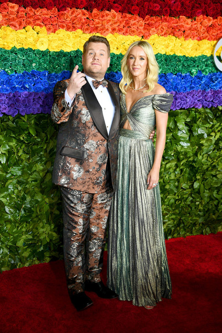 James Corden 73rd Annual Tony Awards Arrivals Red Carpet