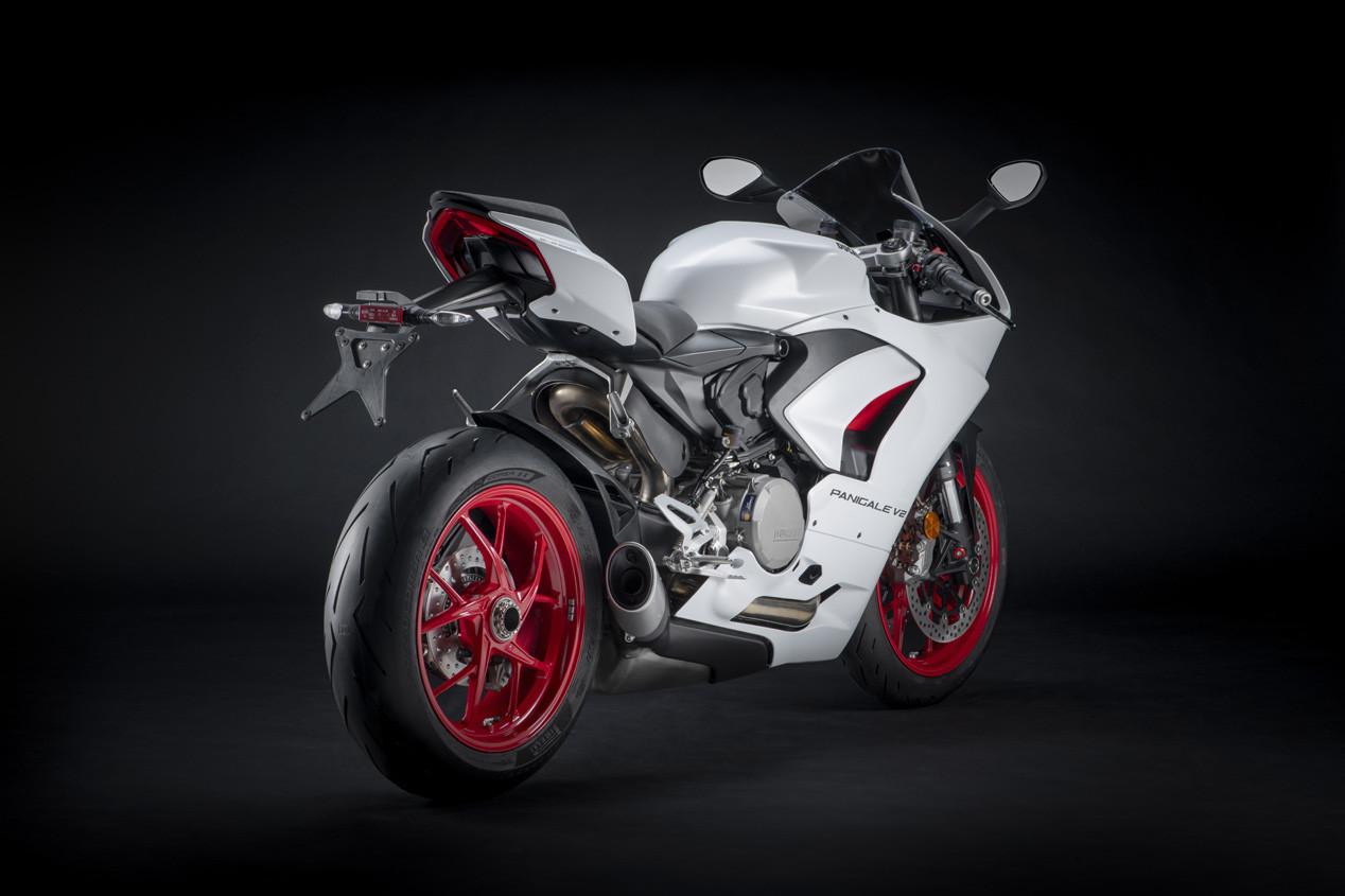 Foto de Ducati Panigale V2 White Rosso 2020 (4/9)