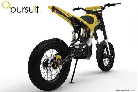 O2 Pursuit Concept: la moto de aire comprimido
