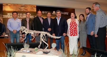 Museo Desierto Coahuila Fosil Dinosaurio