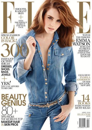 ¿Miedo al total look vaquero? Emma Watson se atreve con todo
