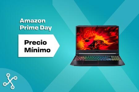 Hacerse con un portátil gaming con una RTX 2060 por menos de 800 euros es posible gracias a la oferta de este Acer Nitro 5 en el Prime Day