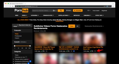 Pornhub añade subtítulos descriptivos para que las personas con dificultades auditivas disfruten mejor su porno