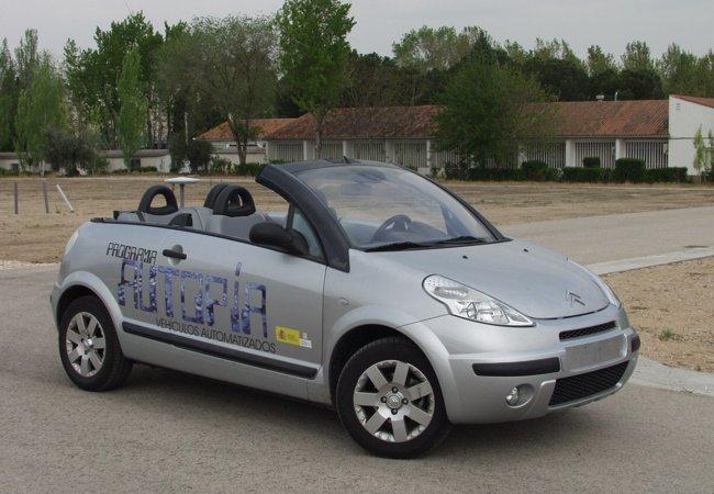 Programa Autopía de vehículos automatizados 01