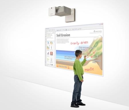 LightRaise 40wi de Smart Technologies mejora los proyectores interactivos
