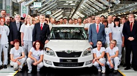 Škoda ha fabricado el Fabia número tres millones