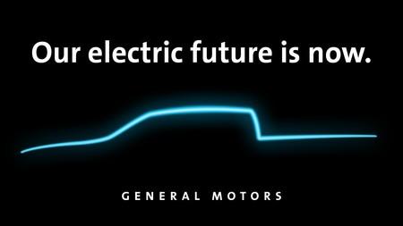 General Motors libera el primera teaser de su primer pick up eléctrica