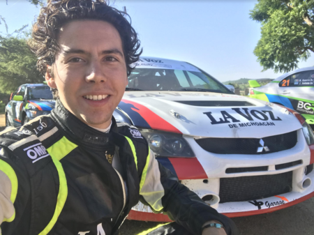 ¿Cómo se logra ser un piloto profesional en México? Platicamos con un talento joven mexicano del rally