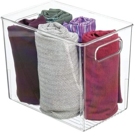 caja transparente