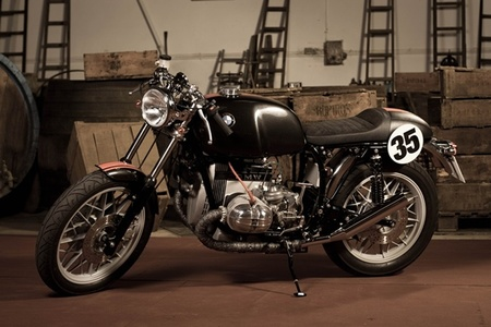 "C59R y su ""The First One"", Cafe Racer nacional"