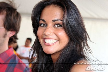Lara Alvarez en el Jarama