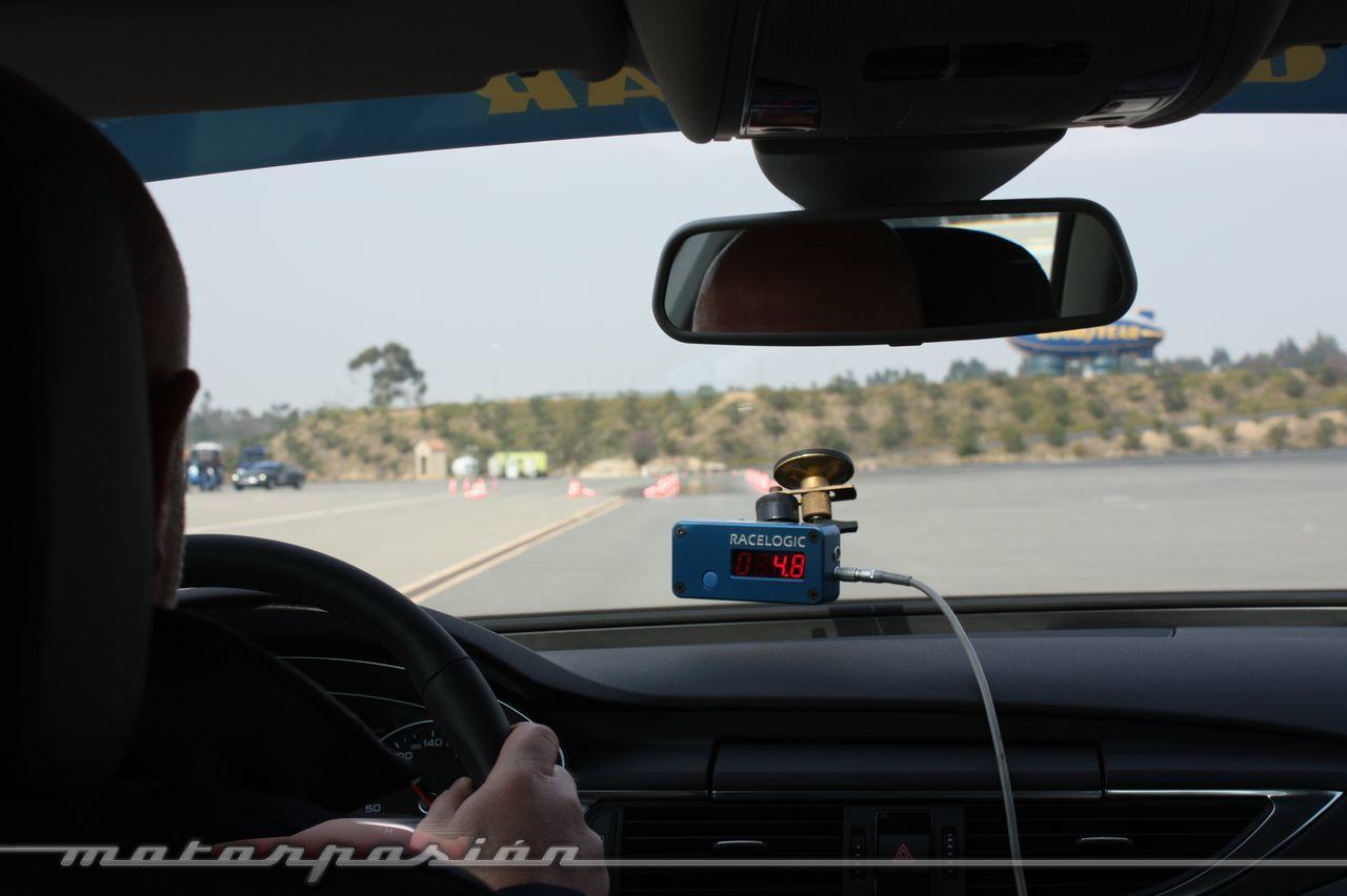 Foto de Goodyear Eagle F1: Audi TT RS, Audi A7 y Mercedes CLS (41/79)