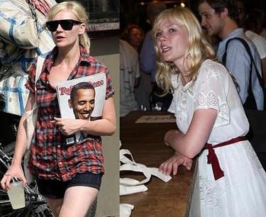 Kirsten Dunst, look de día y look de noche