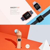 Desde España: reloj inteligente Xiaomi Amazfit Bip, con GPS y pulsómetro, por sólo 51 euros
