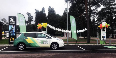 McDonalds instalará estaciones de recarga para autos eléctricos