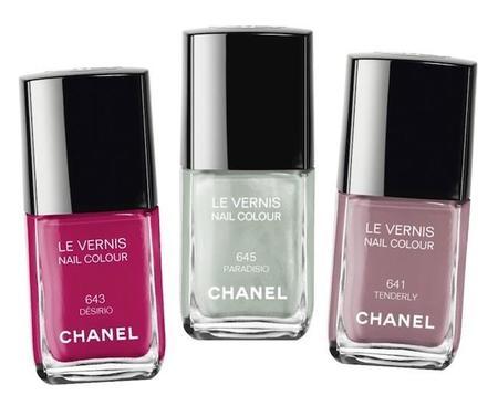 Paradisio, Tenderly y Désirio. Los 3 nuevos tonos de Chanel para esta Primavera 2015
