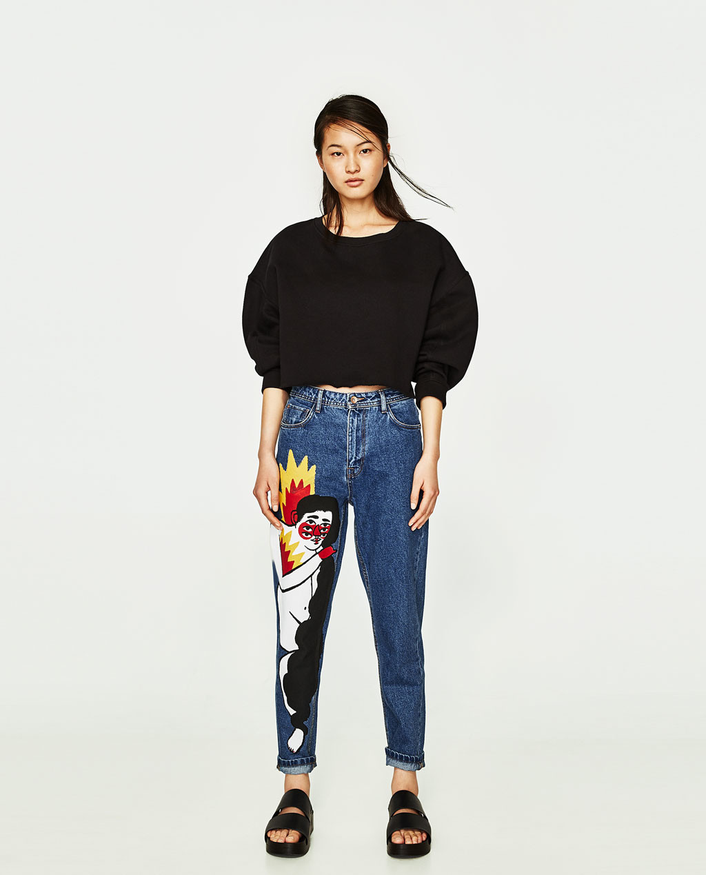 Zara TRF denim