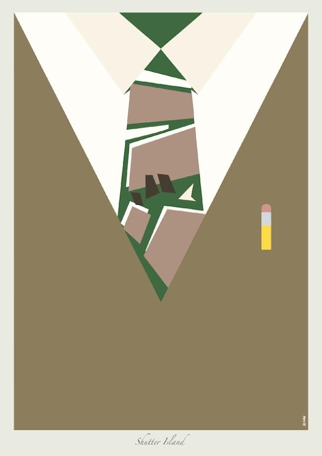 Foto de Las corbatas de Dicaprio en ilustraciones (8/9)