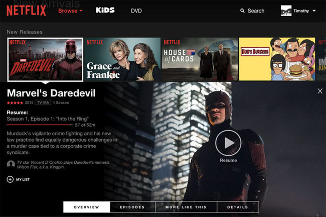 No todos los navegadores web te darán la misma calidad de imagen al ver Netflix, esto es lo que ofrece cada uno