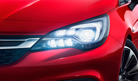 Opel Astra Intellilux Led Matrix Light