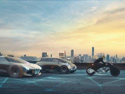 Así de idílica se imagina BMW la movilidad dentro de un siglo