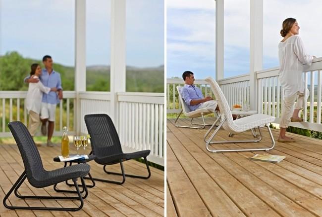 Rio patio set muebles de exteriores para espacios peque os for Muebles jardin pequenos