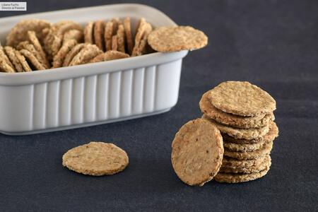 11 recetas de galletas saladas para hacer algo nuevo en la cocina y probar un snack casero delicioso