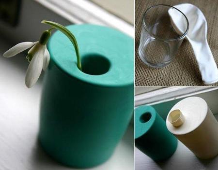 Hazlo tú mismo: un florero instantáneo