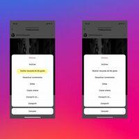Instagram nos acaba de dar a todos la opción de esconder los likes de nuestras fotos y las de otras cuentas: así puedes hacerlo