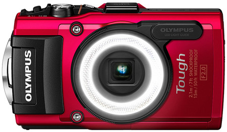 Z Olympus Tg4 Front Led Red Pr