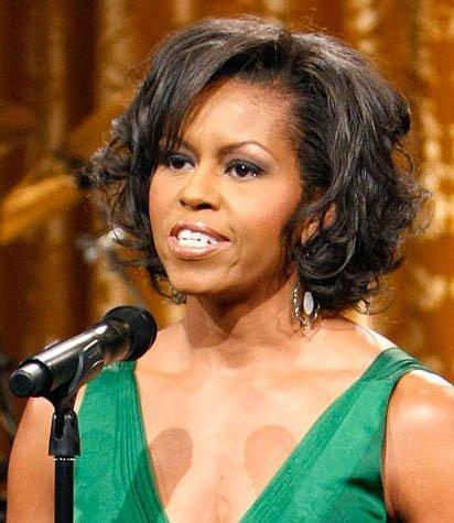 Los peinados de Michelle Obama
