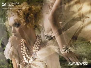 Gemma Ward para Swarovski