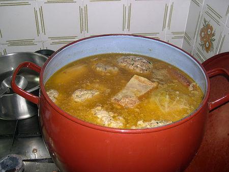 Receta de Carne de pobre para echar al cocido de garbanzos