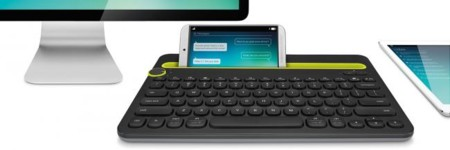 Bluetooth Multi Device Keyboard K480