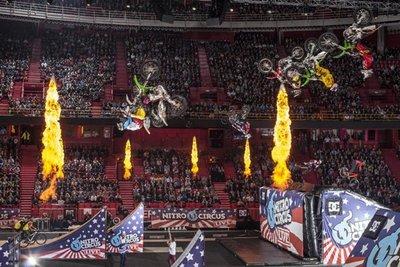 Una muestrecilla de las locuras que han hecho los chicos de Nitro Circus en su tour europeo