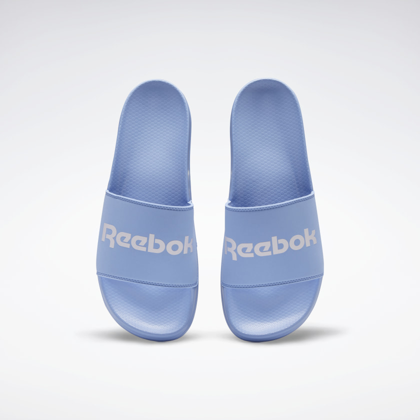 Chanclas Reebok Classic en azul pastel