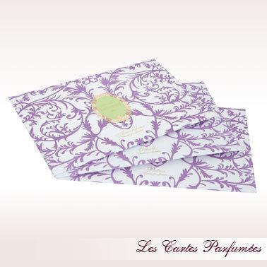 Para qué utilizar las tarjetas perfumadas La Durée