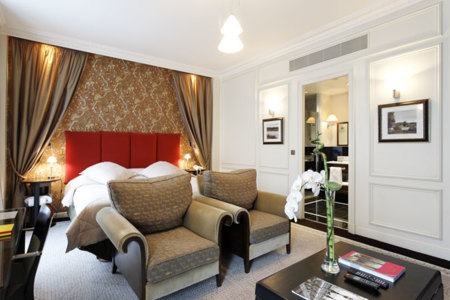 Hotel La Tremouille: interiores