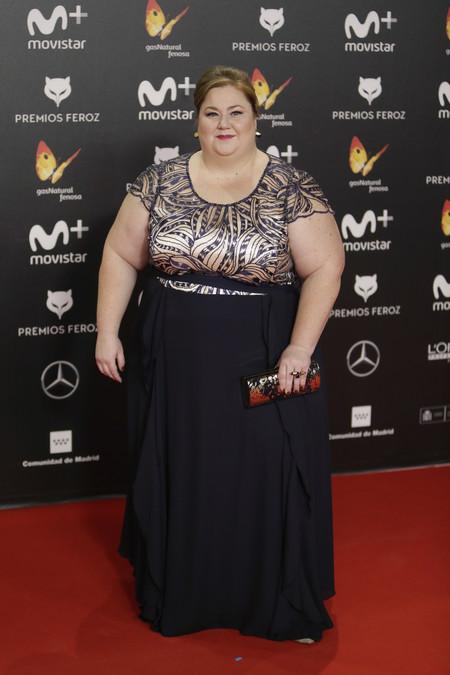premios feroz alfombra roja look estilismo outfit Itziar Castro