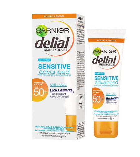 Garnier Leche Protectora Delial Sensitive Advanced