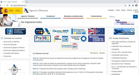La web de la Agencia Tributaria española dejará de funcionar pronto en Chrome si no se soluciona un problema de certificados