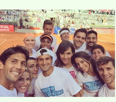 Todos a coger la raqueta solidaria en el Charity Day del 'Mutua Madrid Open'