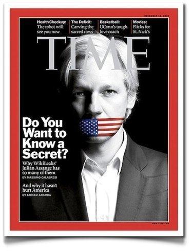 Assange 380.000 votos. Zuckerberg 18.000. El Personaje del Año es... ¡Zuckerberg!