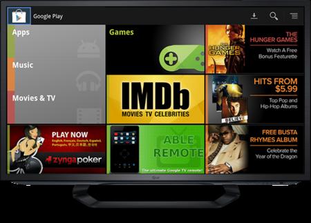 Google Play llega a Europa en Google TV