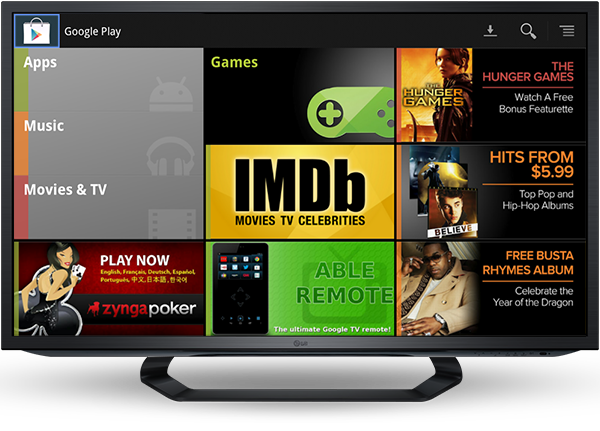 Google Play llega a Europa en Google TV