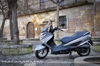Suzuki Burgman 125 2014, prueba (características y curiosidades)