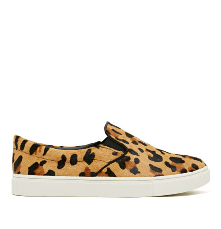 Zapatillas leopardo Celine clon sneakers slip ons Steve Madden