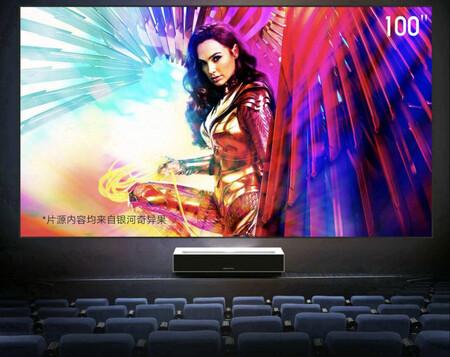 Este proyector de tiro corto arrasa en Xiaomi Youpin: su financiación alcanza el 800%