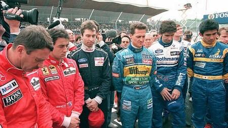Schumacher Senna F1 1994