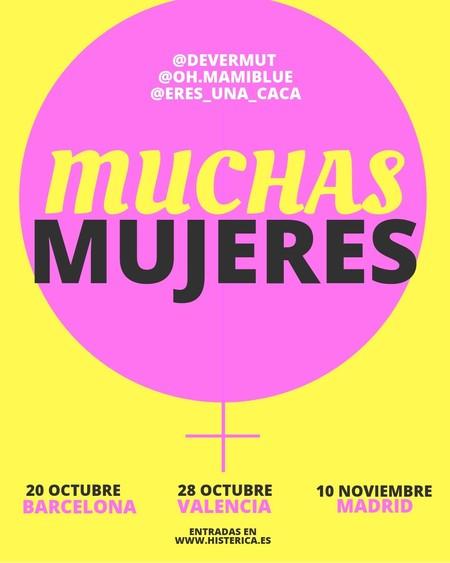 Muchas Mujeres: el evento organizado por Devermut, Lula Gómez y Oh.Mamiblue para crear un punto de encuentro feminista